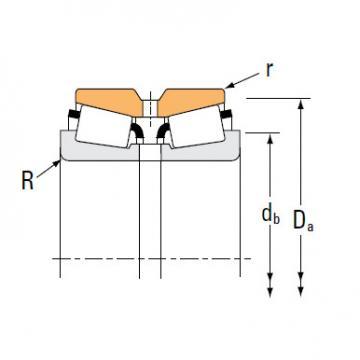 Bearing HM237545 HM237510CD