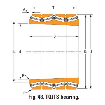 Roller Bearing  m275330T m275310d double cup