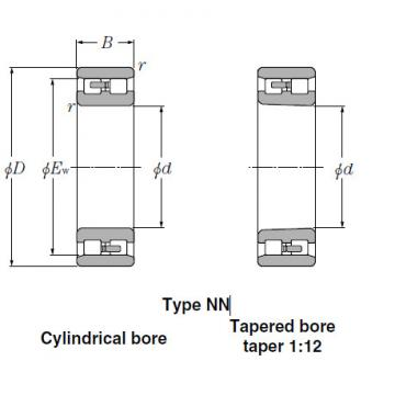 Bearings Cylindrical Roller Bearings NN3036