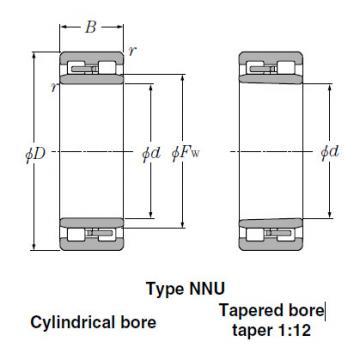 Bearings Tapered Roller Bearings NN4944K